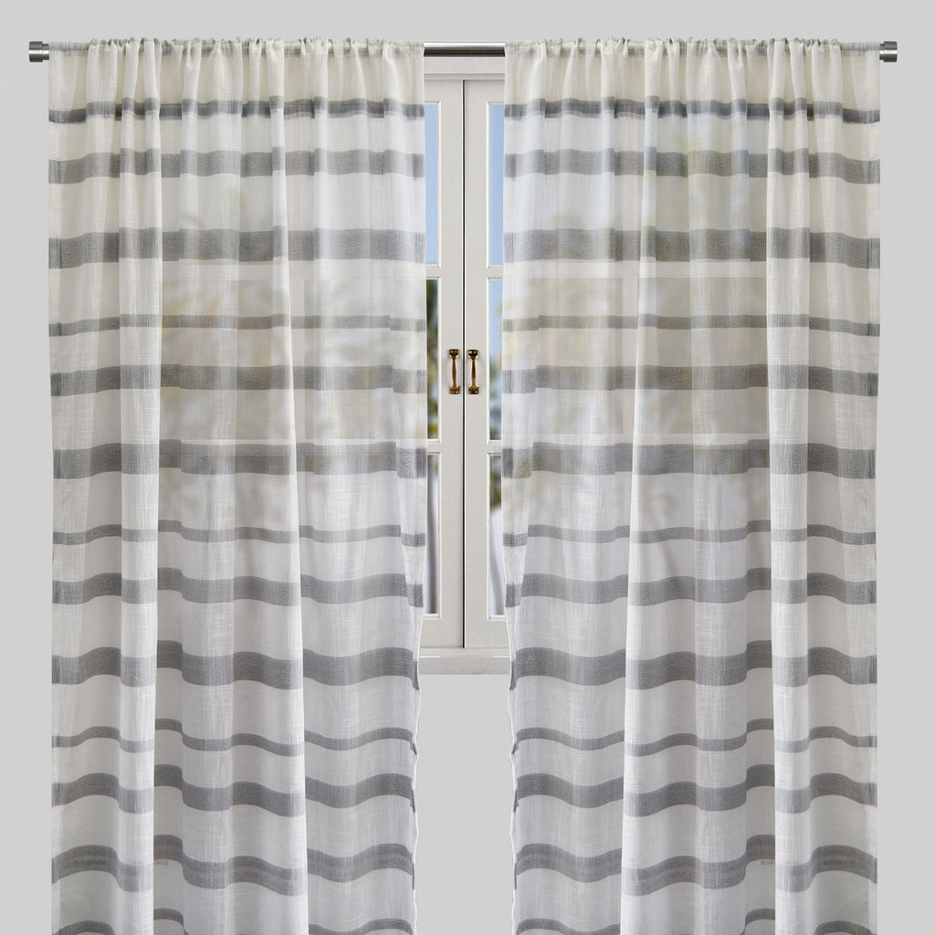 Mora Curtain Panels | Size 54x96 | Color Gray