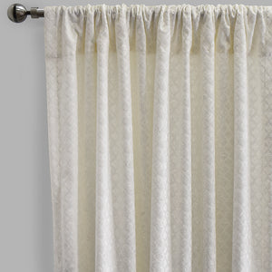 Naomi Curtain Panels | Size 54x96 | Color White