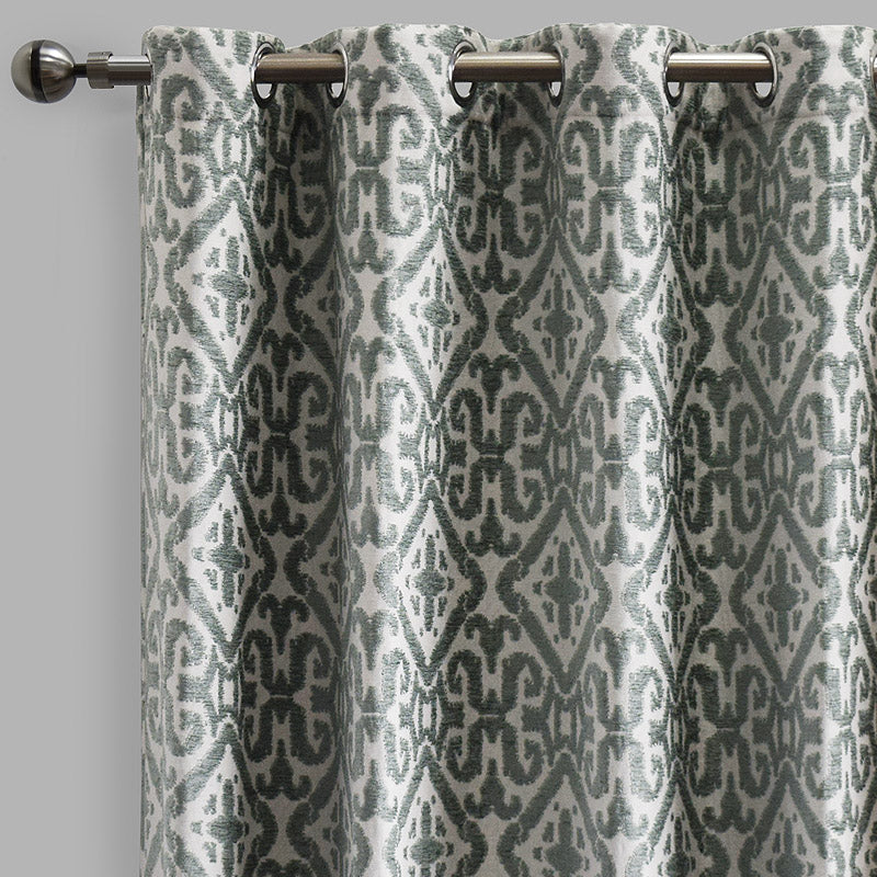 Nikos Curtain Panels | Size 54x96 | Color Celadon