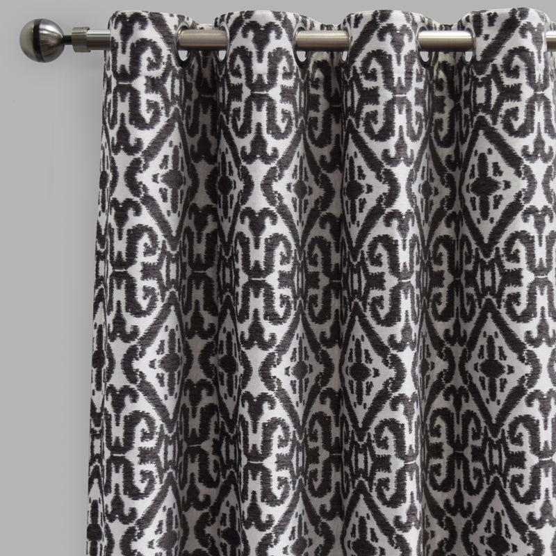 Nikos Curtain Panels | Size 54x96 | Color Gray