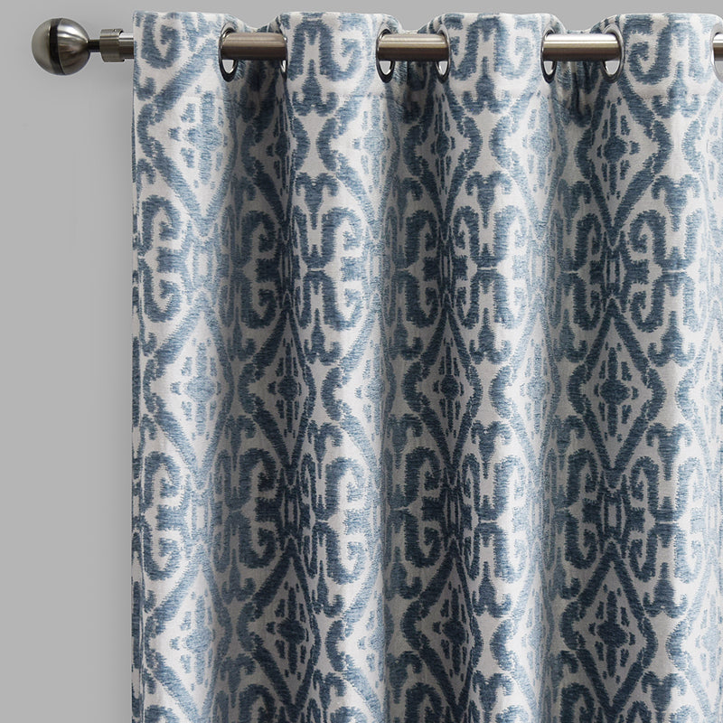 Nikos Curtain Panels | Size 54x96 | Color Sky
