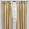 Pixie Set of 2 Metallic Linen Curtain Panel | Size 54X96 | Color Beige