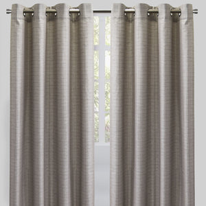Sabrina Set of 2 Linen Curtain Panels | Size 54X96 | Color Flax