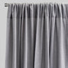 Saint Set of 2 Linen Blend Curtain Panels | Size 54X96 | Color Gray