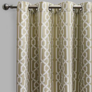 Samba Curtain Panels | Size 54x96 | Color Ivory