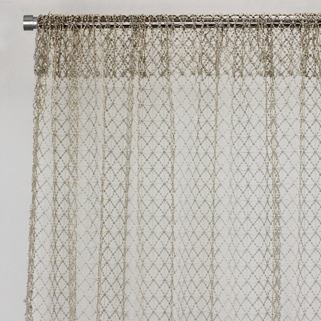 Sanders Curtain Panels | Size 54x96 | Color Ivory