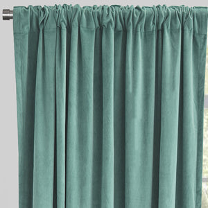 Velluto Curtain Panels | Size 54x96 | Color Spa