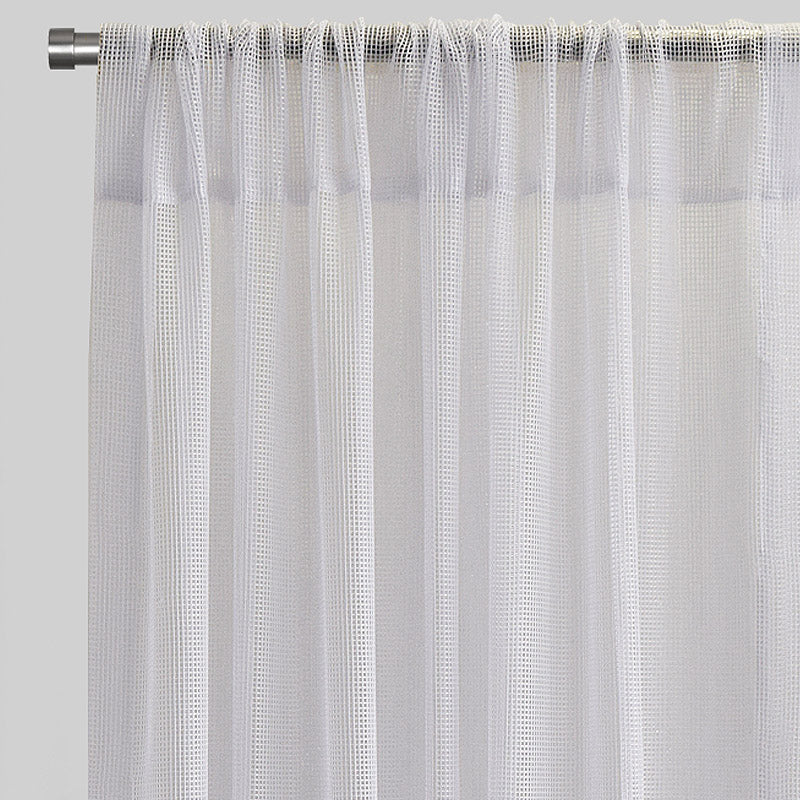 Zone Set of 2 Curtain Panels | Size 54x96 | Color White