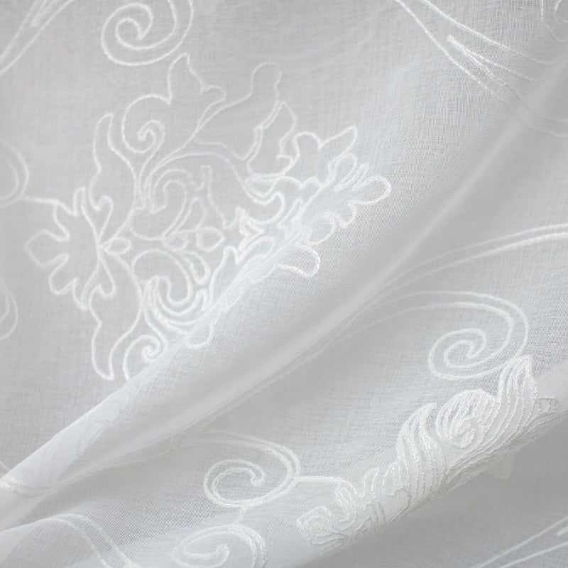 Bali Fabric | Embroidered Sheer