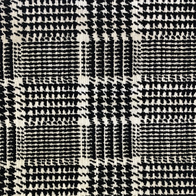 Jace Fabric | Houndstooth Chenille