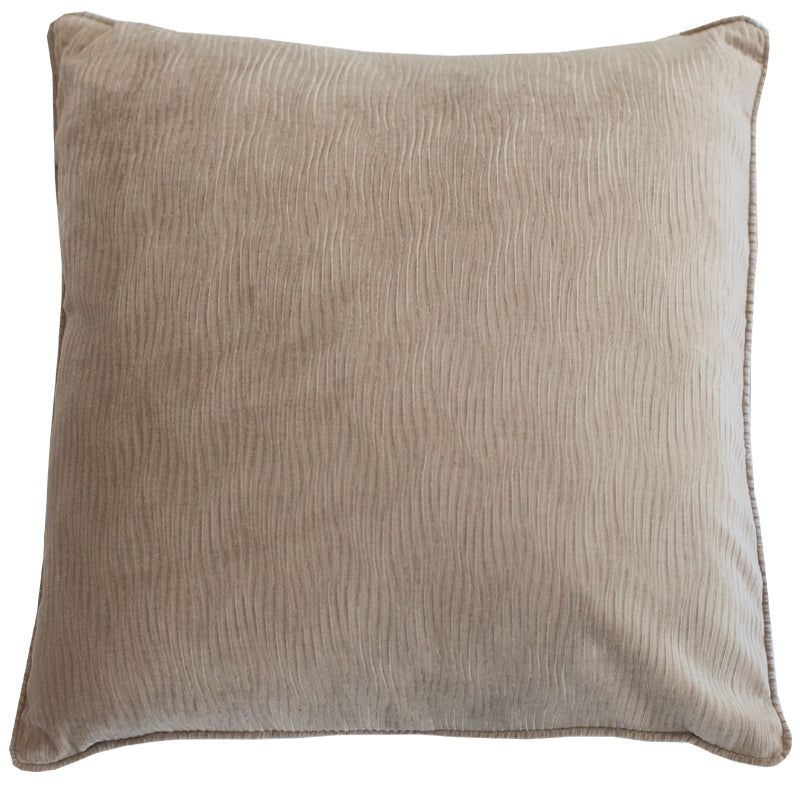 Jillian Pillow | Size 23X23 | Color Mocha