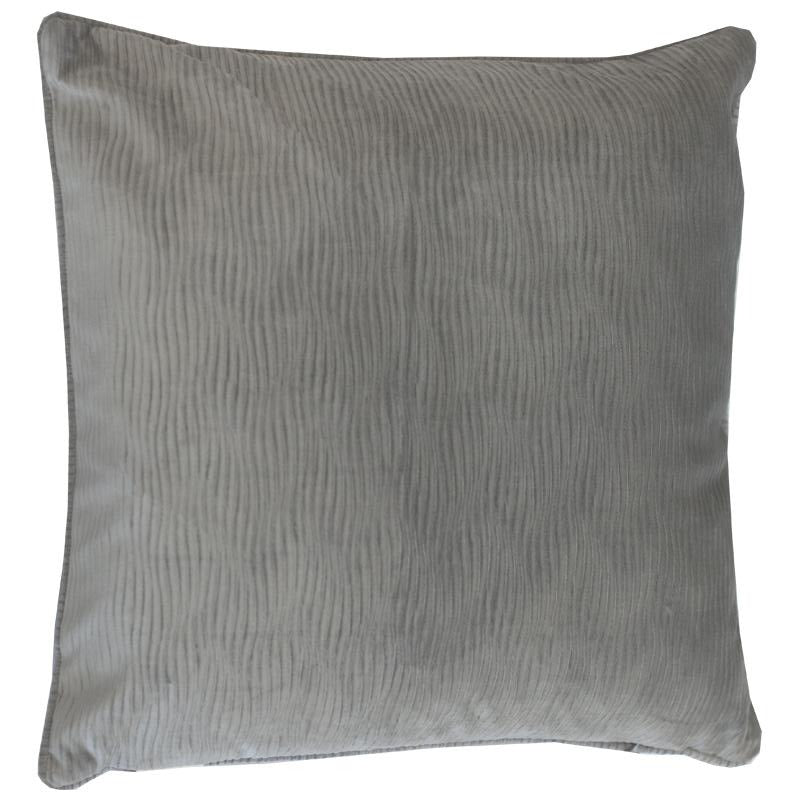 Jillian Pillow | Size 23X23 | Color Gray