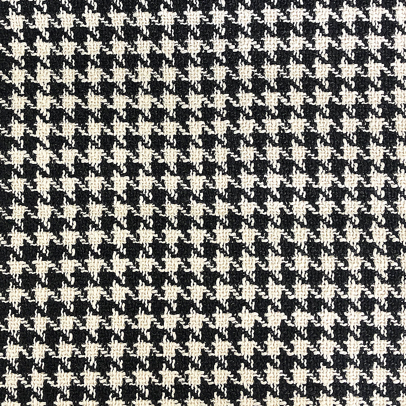 Jonah Fabric | Houndstooth Linen Look