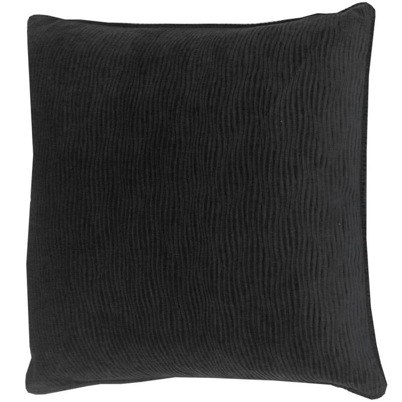 Jillian Pillow | Size 23X23 | Color Black
