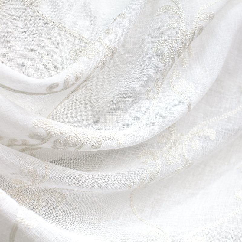 Marquee Fabric | Embroidered Sheer