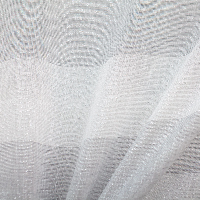 Nashville Fabric | Metallic Striped Sheer