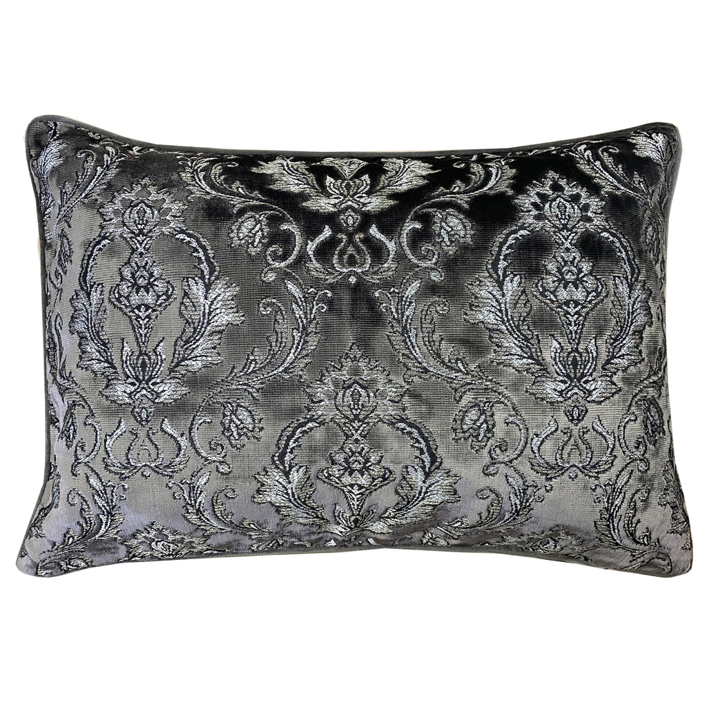 Beatrice Pillows | Size 18x26 | Color Charcoal