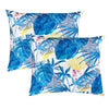 Capistrano Pillow | Size 18x22 | 2-Pack | Color Blue