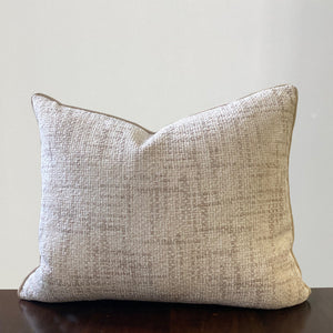 Claudia Pillows | Size 18X22 | Color Ivory