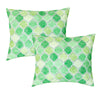 Daytona Pillow | Size 18x22 | 2-Pack | Color Green