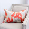Diamo Pillow | Size 18X26 | Color Orange
