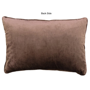 Diego Pillows | Size 18X26 | Color Chocolate