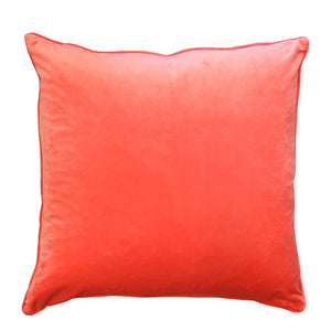 Diamo Pillow | Size 24X24 | Color Orange