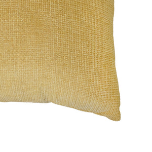 Jessa Pillow | Size 23X23 | Color Mustard
