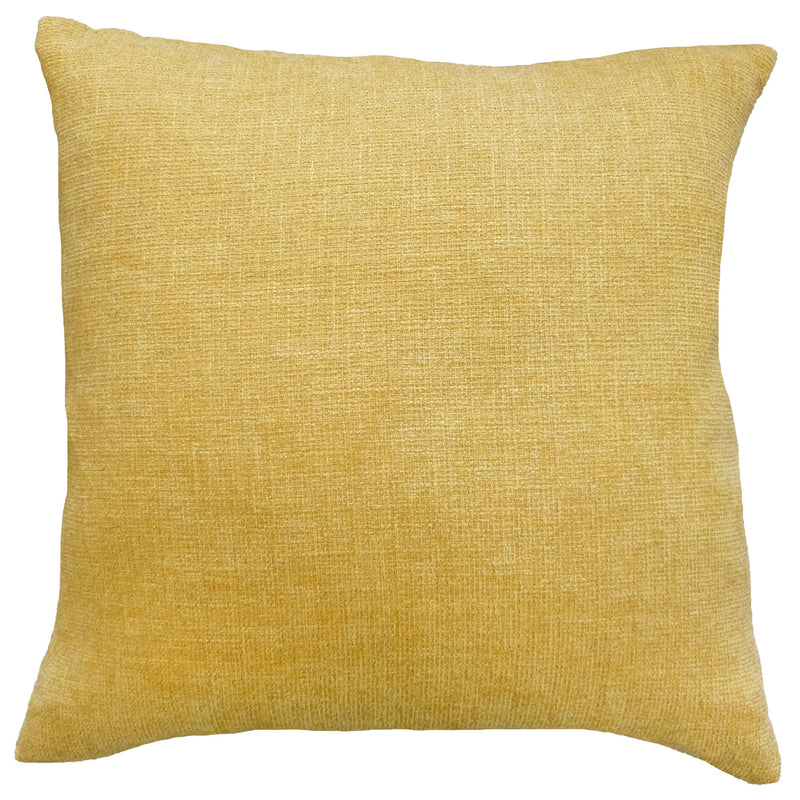 Josie Pillow | Size 20X20 | Color Mustard
