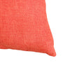 Josie Pillow | Size 23X23 | Color Tangerine