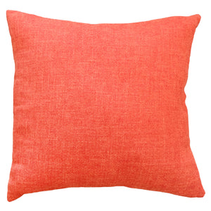 Josie Pillow | Size 20X20 | Color Tangerine