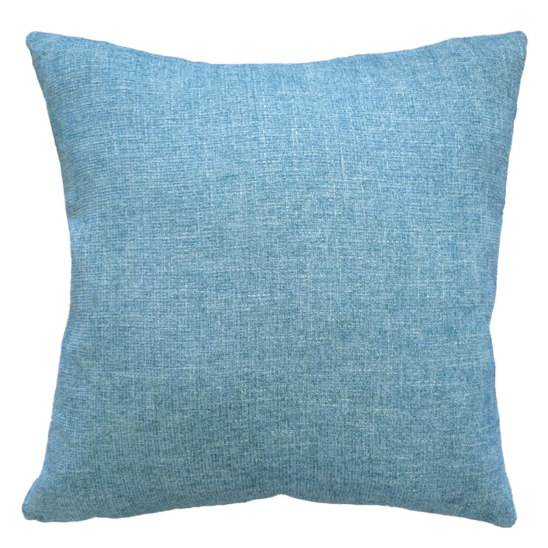 Josie Pillow | Size 23X23 | Color Turquoise