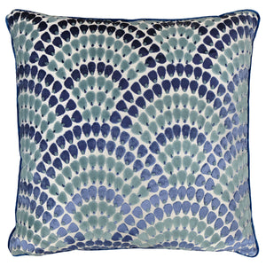 Lennix Pillow | Size 24X24 | Color Ocean