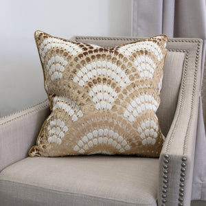 Lennix Pillow | Size 24X24 | Color Bronze