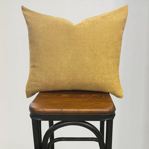 Louisa Pillows | Size 18X23 | Color Mustard