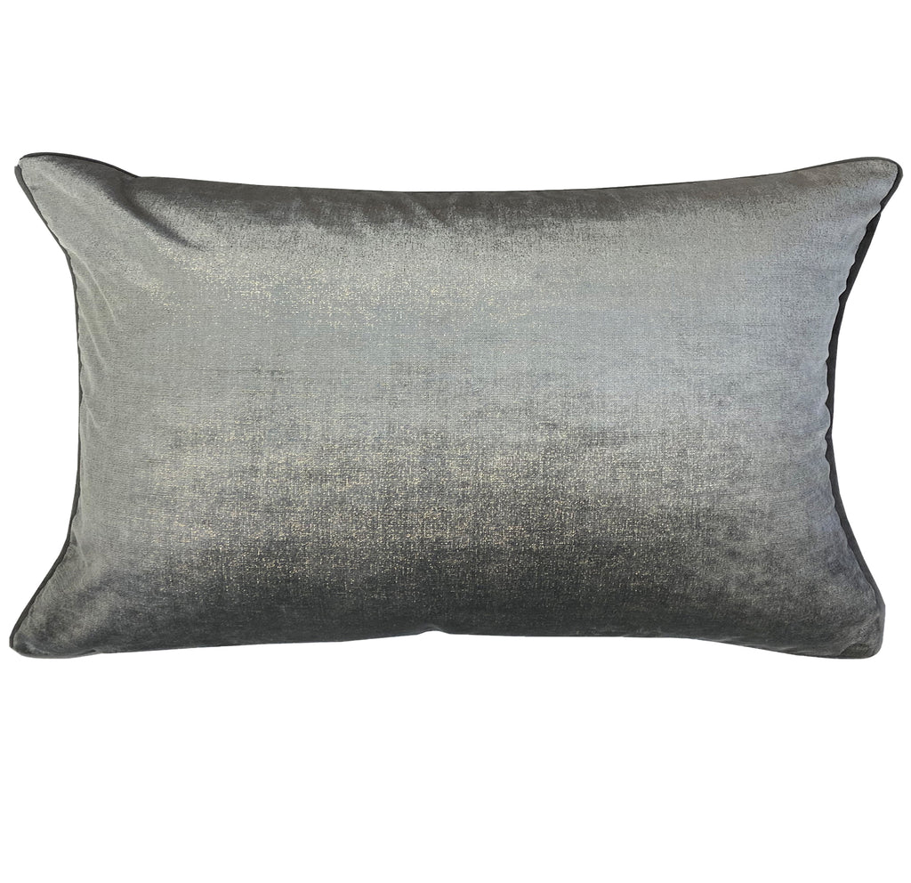 Margo Pillows | Size 16x28 | Color Gray