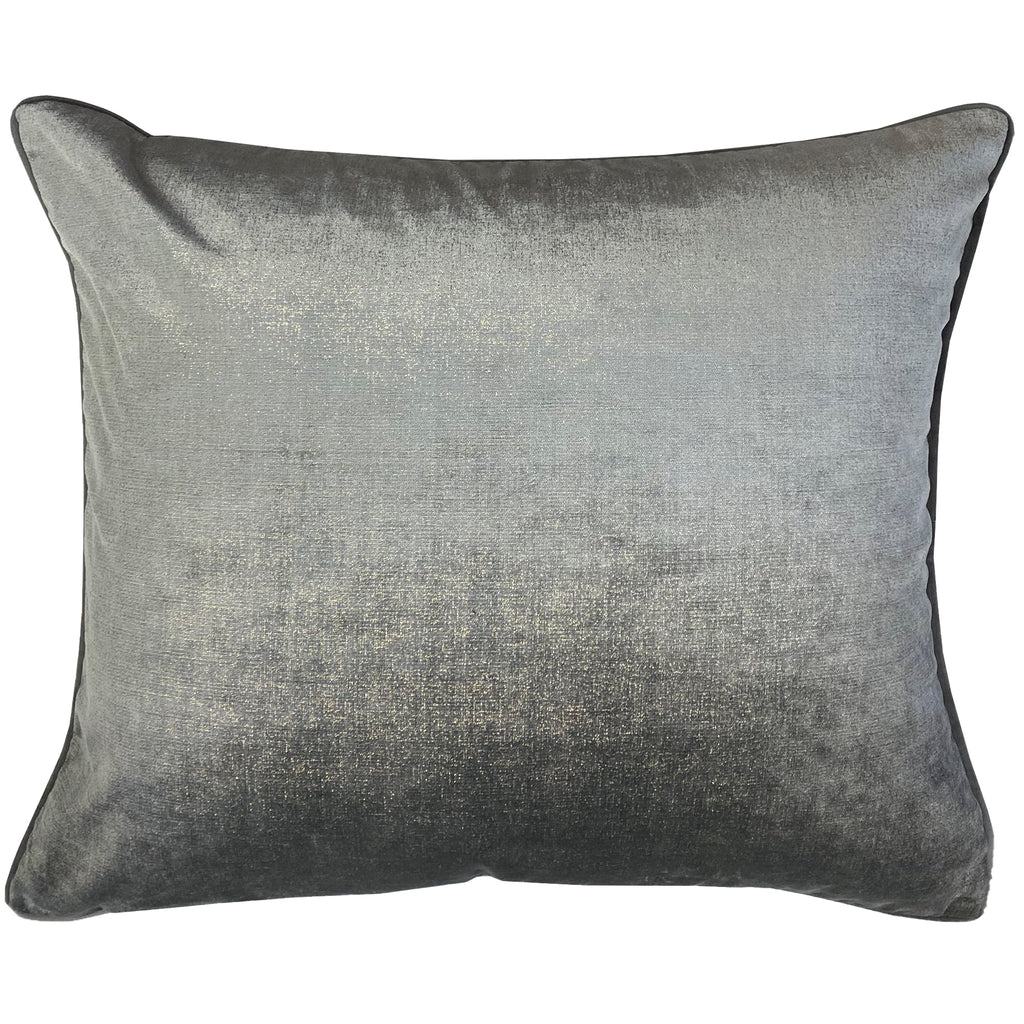 Margo Pillows | Size 18x22 | Color Gray