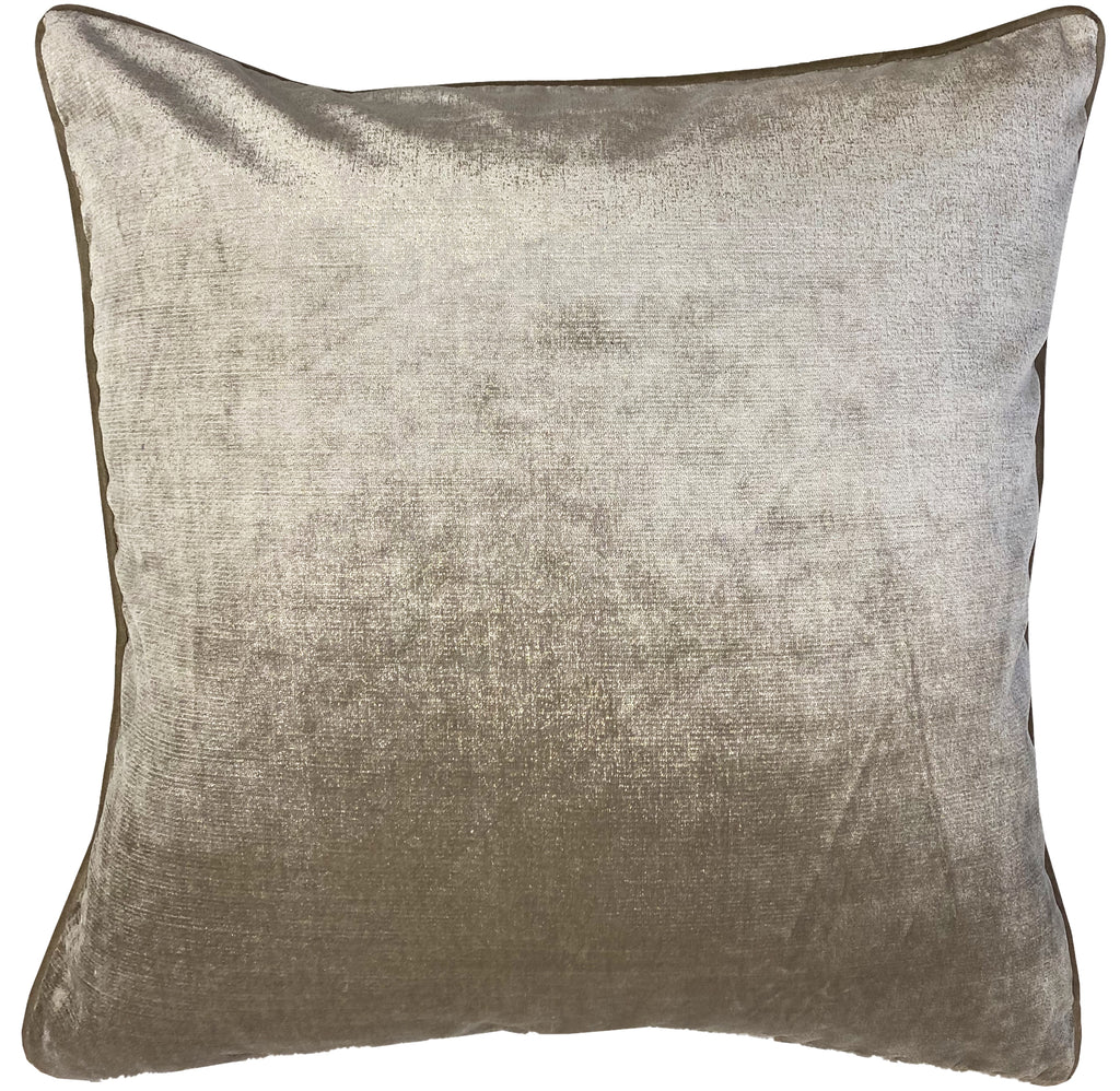 Margo Pillows | Size 23X23 | Color Pewter