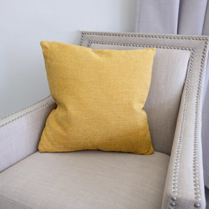 Mavel Pillow | Size 20X20 | Color Mustard