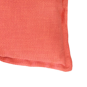 Reno Pillow | Size 22X22 | Color Coral