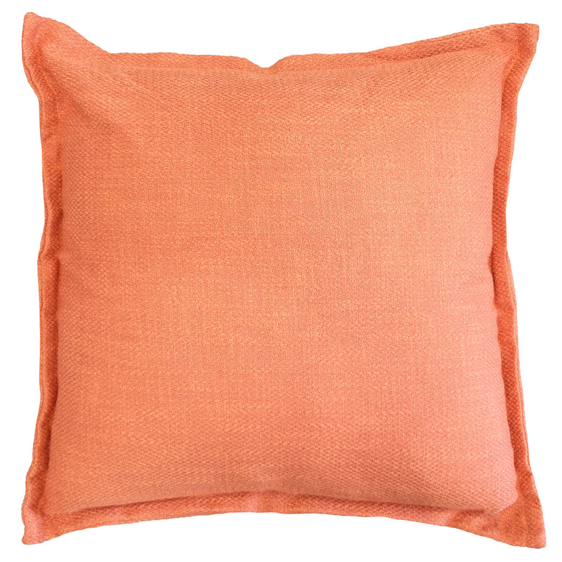 Reno Pillow | Size 22X22 | Color Orange