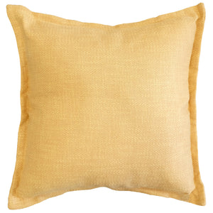 Reno Pillow | Size 22X22 | Color Canary