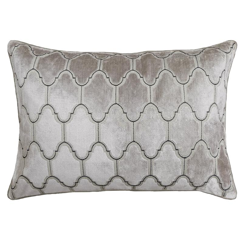 Alaya Pillows | Size 18X26 | Color Silver - Rodeo Home