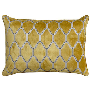 Alaya Pillows | Size 18X26 | Color Gold