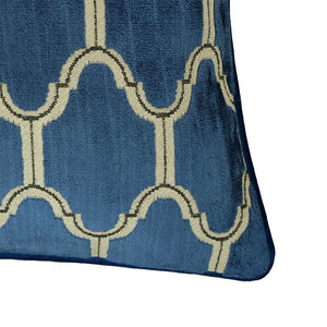 Alaya Pillows | Size 23X23 | Color Royal - Rodeo Home