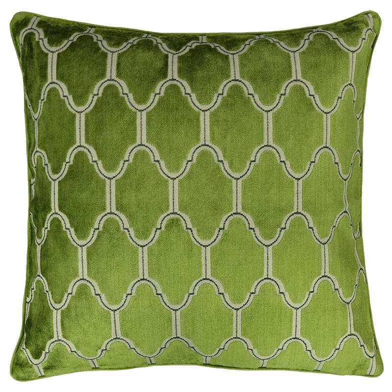 Alaya Pillows | Size 23X23 | Color Olive - Rodeo Home