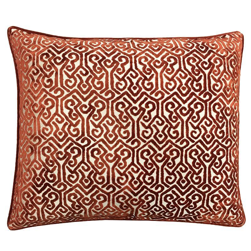 Alexandra Pillow | Size 20X24 | Color Orange