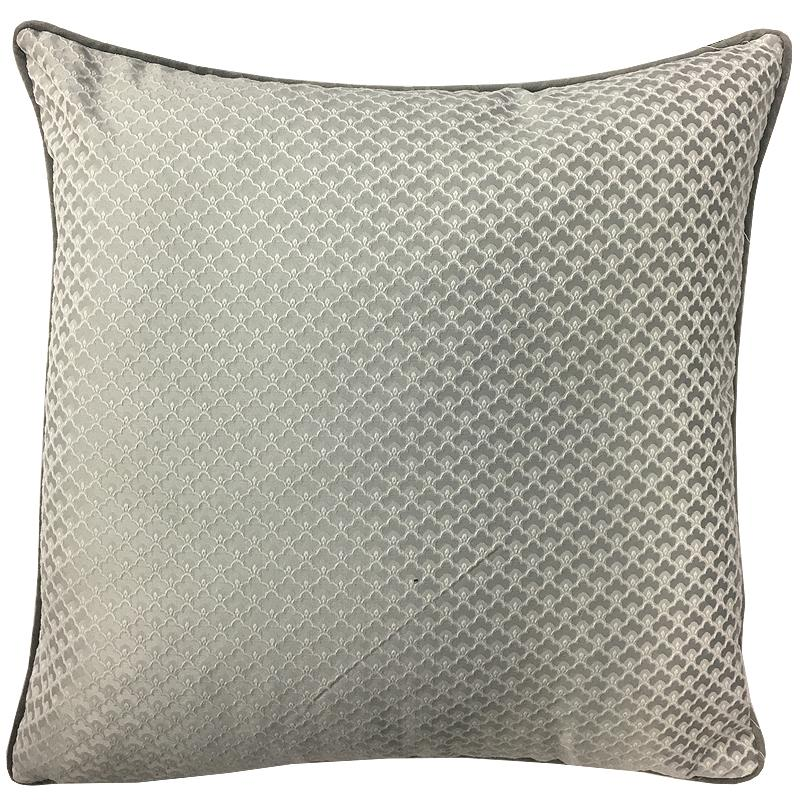 Amira Pillow | Size 20X20 | Color Silver - Rodeo Home