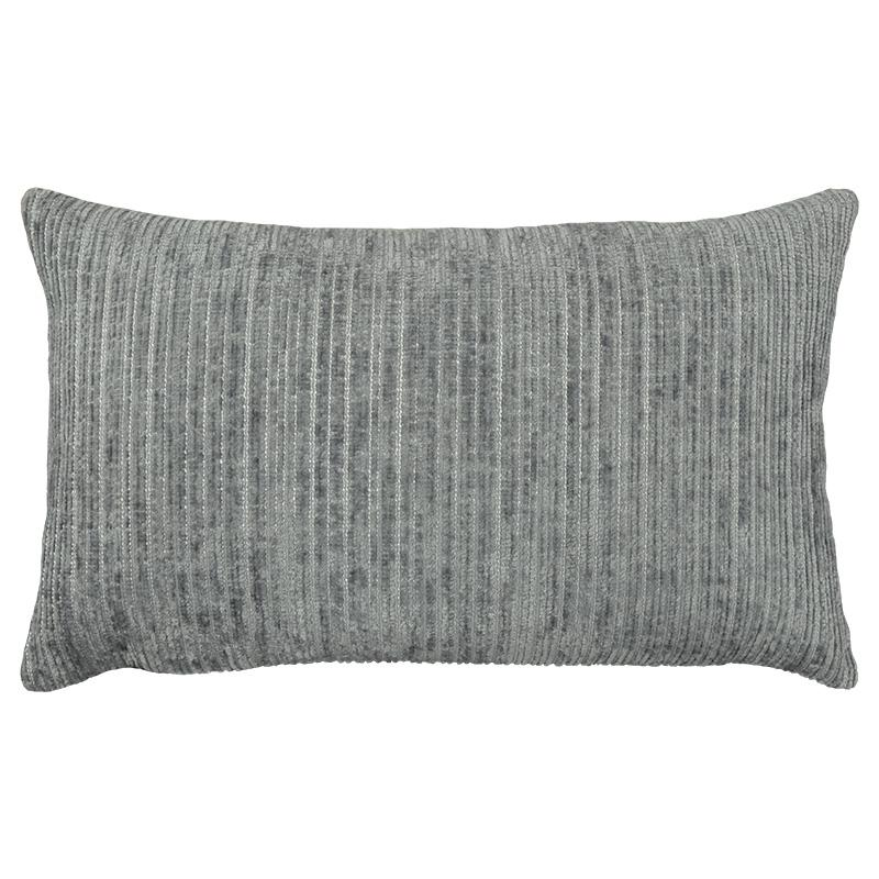 Amora Pillow | Size 16X26 | Color Silver - Rodeo Home