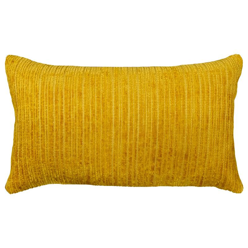 Amora Pillow | Size 16X26 | Color Mustard - Rodeo Home